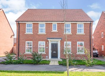 Thumbnail 4 bed detached house for sale in Broad Avenue, Hessle