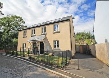 Thumbnail 3 bed semi-detached house for sale in Bramley Close, Brixton, Plymouth, Devon