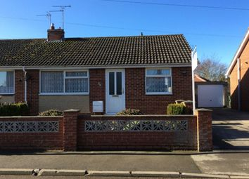 Thumbnail 2 bed semi-detached bungalow to rent in Howe Lane, Nafferton, Driffield