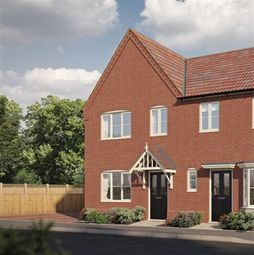 Thumbnail 2 bed terraced house for sale in Partridge Way, Holt