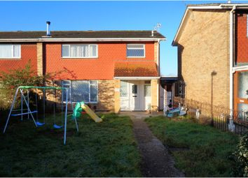 Thumbnail 4 bedroom semi-detached house for sale in Christopher Crescent, Poole