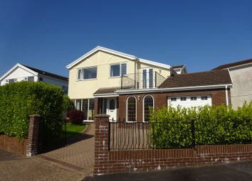 Thumbnail 4 bed detached house for sale in 2 Woollacott Drive, Newton, Swansea