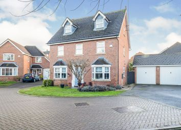 Thumbnail 5 bed detached house for sale in Barn Close, Grange Park, Northampton