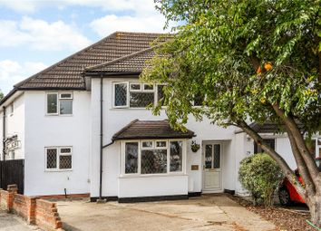 Thumbnail 4 bed semi-detached house for sale in Horsley Close, Epsom, Surrey