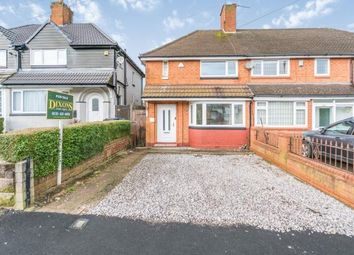 Thumbnail 3 bed semi-detached house for sale in Barston Road, Oldbury, Birmingham, West Midlands