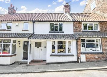 Thumbnail 2 bed terraced house for sale in South Side, Hutton Rudby, Yarm, North Yorkshire