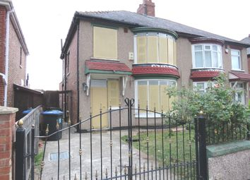 Thumbnail 3 bedroom semi-detached house for sale in Lansdowne Road, Middlesbrough
