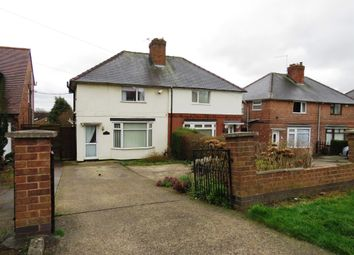 Thumbnail 3 bed semi-detached house for sale in Newthorpe Common, Newthorpe, Nottingham