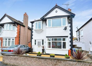Thumbnail 3 bed detached house for sale in Grove Park Avenue, Rhyl