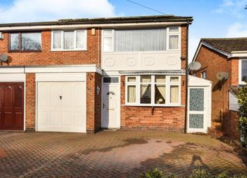 Thumbnail 3 bedroom semi-detached house for sale in Brabham Crescent, Sutton Coldfield, West Midlands, Sutton Coldfield