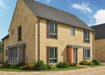 "Thumbnail 4 bed detached house for sale in ""The Clarence 3"" at Heron Road, Northstowe, Cambridge"