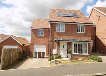 Thumbnail 4 bed detached house for sale in Carnforth Crescent, Eastbourne