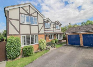 Thumbnail 4 bed detached house for sale in Mill End Close, Edlesborough, Dunstable