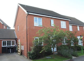 Thumbnail 4 bedroom semi-detached house for sale in Guillemot Close, Stowmarket