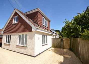 Thumbnail 4 bed detached bungalow for sale in St. Marks Road, Pennington, Lymington