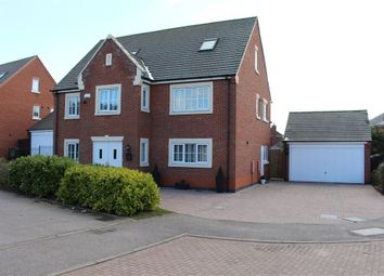 Thumbnail 6 bed detached house for sale in Park View Close, Broughton Astley, Leicester