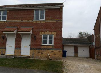 Thumbnail 2 bed semi-detached house to rent in Juniper Way, Gainsborough
