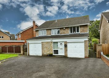 Thumbnail 4 bed detached house for sale in Lea Green Lane, Wythall, Birmingham