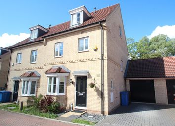 Thumbnail 4 bed town house for sale in Malkin Close, Ipswich