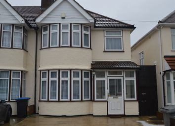 Thumbnail 3 bed semi-detached house to rent in Princes Avenue, Kingsbury
