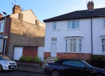 Thumbnail 3 bed semi-detached house for sale in Dunster Street, Leicester