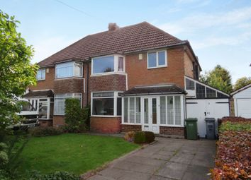 Thumbnail 3 bed semi-detached house for sale in Clayton Drive, Birmingham