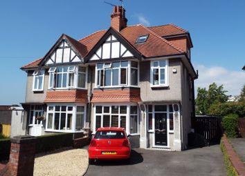 Thumbnail 4 bed semi-detached house for sale in 2 Llwyn Arosfa, Sketty, Swansea