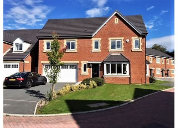 Thumbnail 4 bed detached house for sale in Shakerley Close, Northwich
