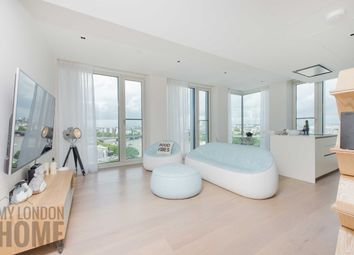 Thumbnail 2 bed flat for sale in Southbank Tower, 55 Upper Ground, London