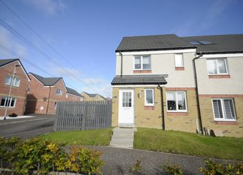 Thumbnail 3 bed end terrace house for sale in Craigswood Way, Baillieston, Glasgow
