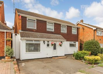 Thumbnail 4 bed detached house for sale in Gilbert Close, Rayleigh, Essex