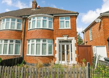 Thumbnail 3 bed semi-detached house for sale in Bretby Road, Leicester