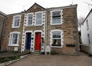 Thumbnail 3 bed semi-detached house for sale in Kimberley Park Road, Falmouth