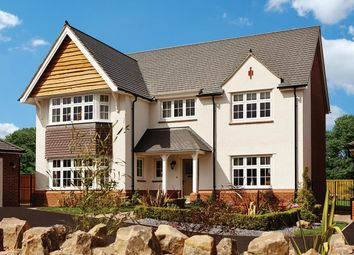 Thumbnail 4 bedroom detached house for sale in Saxon Brook, Pinn Hill, Exeter, Devon