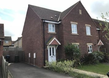 Thumbnail 3 bed semi-detached house for sale in Walter Close, Great Glen, Leicestershire