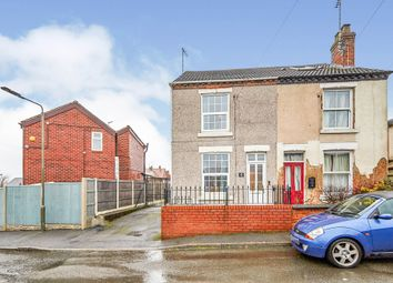 Thumbnail 2 bed semi-detached house for sale in Fairfield Road, Horsley Woodhouse, Ilkeston