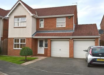 Thumbnail 4 bedroom detached house for sale in Tantallon Court, Woodstone Village, Houghton Le Spring
