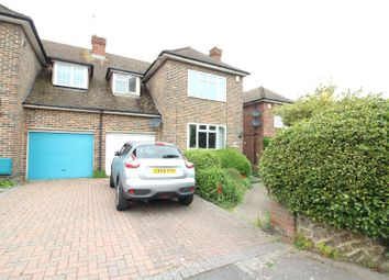 Thumbnail 3 bed semi-detached house for sale in Davys Place, Gravesend, Kent