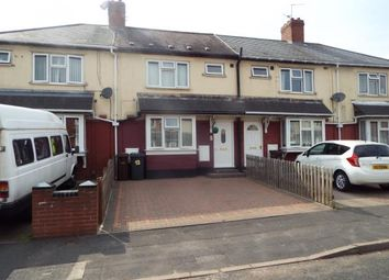 Thumbnail 3 bedroom terraced house for sale in Millington Road, Wolverhampton, West Midlands