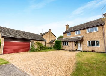 Thumbnail 4 bed detached house for sale in Lindsey Close, Woodnewton, Peterborough