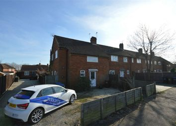 Thumbnail 3 bed end terrace house for sale in Salisbury Road, Welwyn Garden City, Hertfordshire