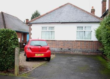 Thumbnail 2 bed detached bungalow for sale in Teign Bank Road, Hinckley
