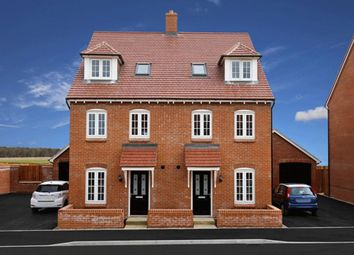 "Thumbnail 4 bedroom semi-detached house for sale in ""Helmsley"" at Riddy Walk, Kempston, Bedford"