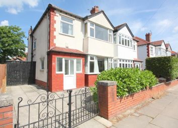 Thumbnail 3 bed semi-detached house for sale in Moorside Road, Crosby, Liverpool