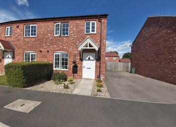 Thumbnail 3 bed semi-detached house for sale in Bosworth Way, Leicester Forest East, Leicester