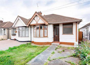 Thumbnail 2 bed semi-detached bungalow for sale in Kempton Avenue, Hornchurch