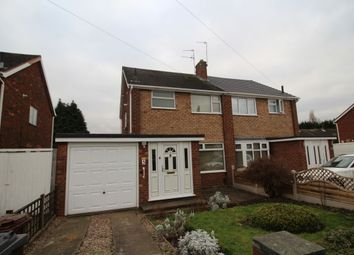 Thumbnail 3 bedroom semi-detached house to rent in Duke Street, Wednesfield, Wolverhampton