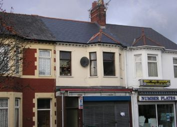 Thumbnail 1 bed flat to rent in Caerleon Road, Newport, S Wales.