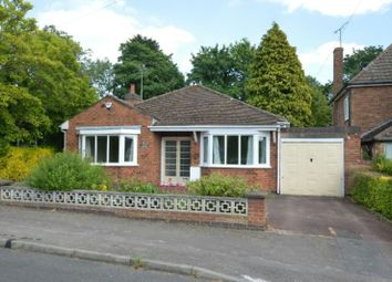 Thumbnail 2 bed detached bungalow for sale in Greendale Road, Glen Parva, Leicester