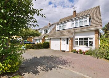 Thumbnail 4 bed detached house for sale in Plovers Mead, Wyatts Green, Brentwood, Essex